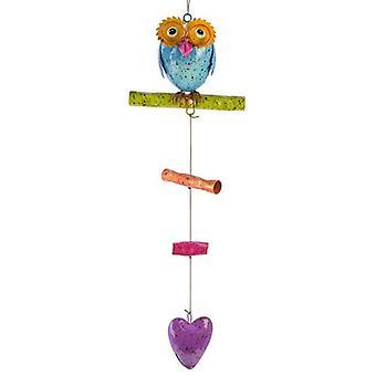 Colourful Owl Mobile Professor