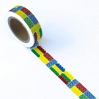 Washi Tape 15Mmx10m Block Eyew T6