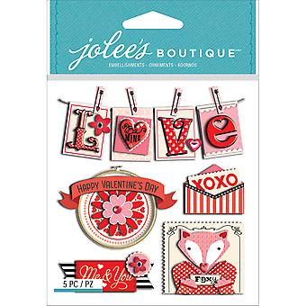 Jolee's Boutique Dimensional Stickers-Valentine Words E5021752