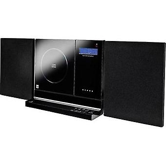 Audio system Dual Vertical 200 AUX, CD, SD, FM, USB, Wall mount brackets Black
