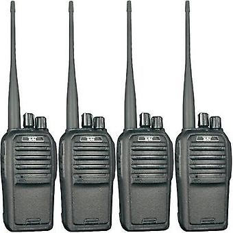 Freenet handheld transceiver Team Electronic TeCom-SL PR8572 4-piece set