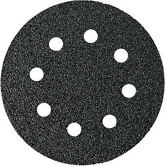 Router sandpaper Hook-and-loop-backed, punched Grit size 60 (Ø)
