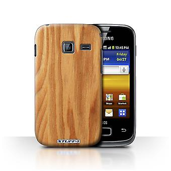 STUFF4 Case/Cover for Samsung Galaxy Y Duos/S6102/Oak/Wood Grain Pattern