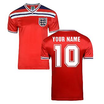 Score Draw Angleterre World Cup 1982 maillot (votre nom)