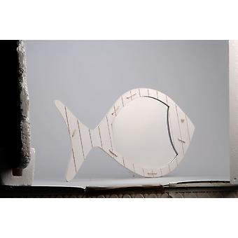 Amadeus White Fish Mirror (Home , Decoration , Mirrors)