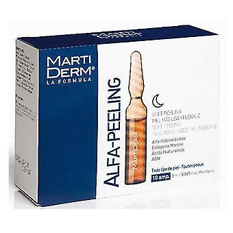 Martiderm Peeling Alfa 10 Blisters (Woman , Cosmetics , Skin Care , Masks and exfoliants)
