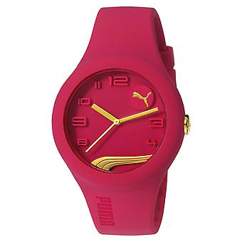 PUMA watch bracelet watch ladies form raspberry analog PU103001015