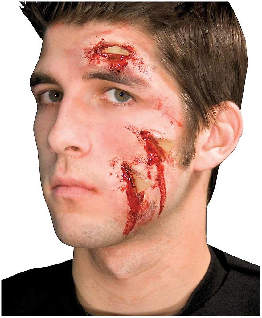 Palmer Agencies Woochie Glass Attack Latex Wound Make Up Halloween Fancy Dress