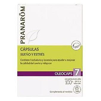 Pranarom Oleocaps 7 Sleep and Stress 30 Capsules