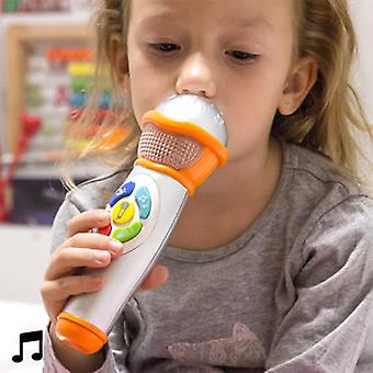 Big Buy Hand Microphone with Light and Sound for Children