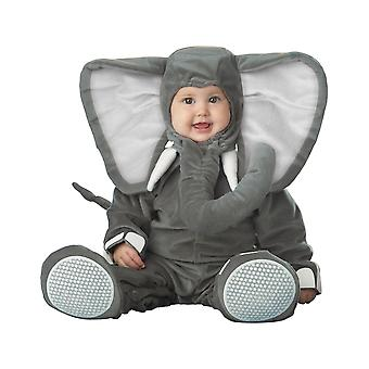 Lil' elefant Zoo dyr buksetrold drenge kostume