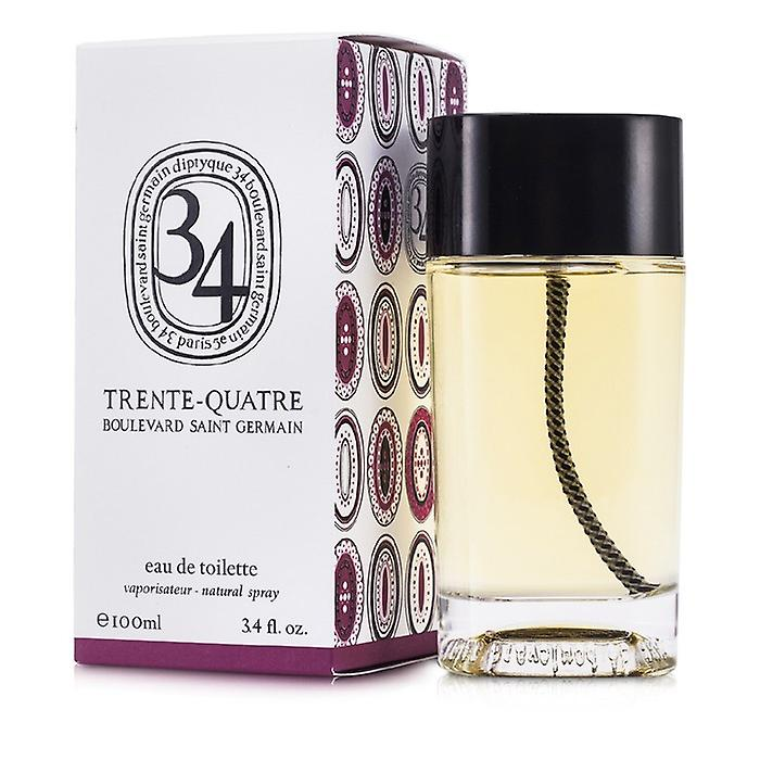 Diptyque 34 Boulevard Saint Germain Eau De Toilette Spray 100ml / 3.4 oz