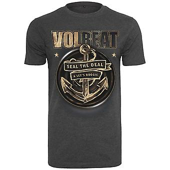 Merchcode shirt - Volbeat seal the deal charcoal