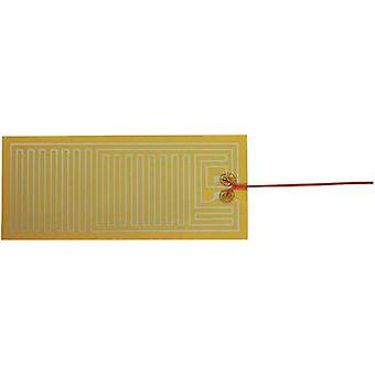 Heating foil self-adhesive 24 Vdc, 24 Vac 25 W Protection type IPX4 (L x W) 300 mm x 130 mm Thermo