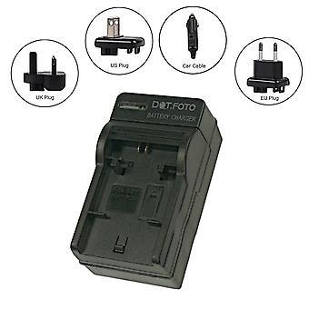 Carregador de bateria de viagem GoPro AHDBT-201, 301-AHDBT Dot.Foto
