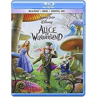 Alicja w krainie czarów (Live Action) [Blu-ray] USA import