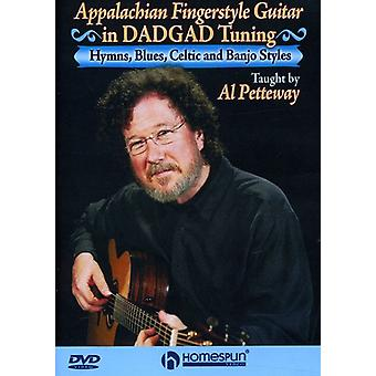 Appalachian Fingerstyle Guitar i Dadgad Tuning [DVD] USA importerer