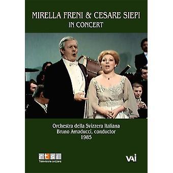 Mirella Freni & Cesare Siepi i koncert [DVD] USA importerer