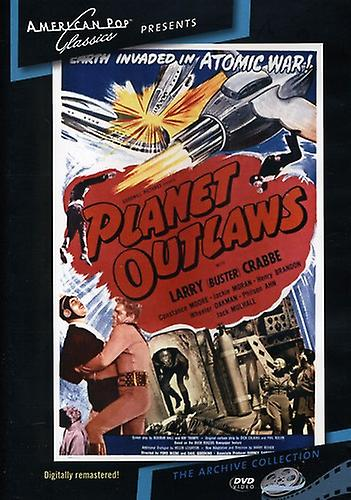 Planet Outlaws (1953) [DVD] USA import