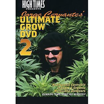 Jorge Cervantes vokse 2 [DVD] USA importerer