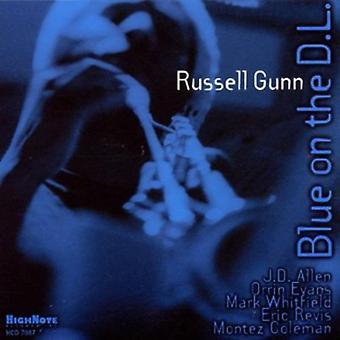 Russell Gunn - blå på D.L. [CD] USA importen