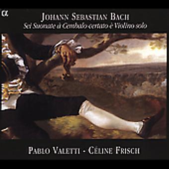 J.S. Bach - Johann Sebastian Bach: Sei Suonate Cembalo Certato Violino Solo [CD] USA import
