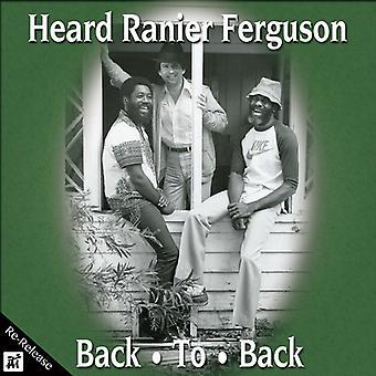 Hørt Ranier Ferguson - Back to Back [CD] USA import