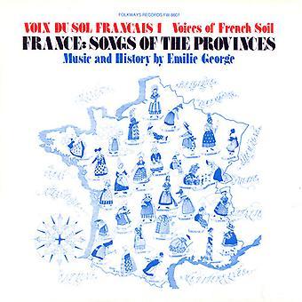 Emilie George - Emilie George: Vol. 1-Voix Du Sol Frantais: France: chants de l'importation USA [CD]