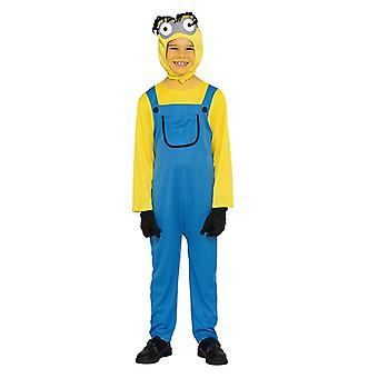 Yellow male costume yellow dwarf one eye children