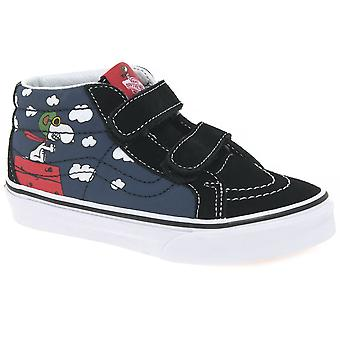Vans Erdnüsse Flying Ace Hallo Top-Kinder-Jugend-Canvas-Schuhe