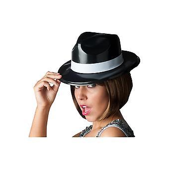 Hatte plast klassiske Mafia hat