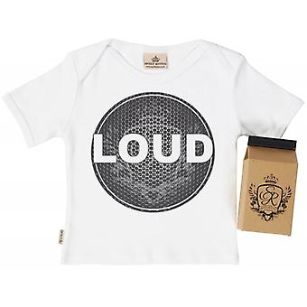 Spoilt Rotten Loud Babys T-Shirt 100% Organic In Milk Carton