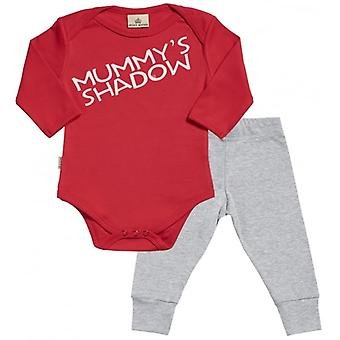 Spoilt Rotten Mummy's Shadow Babygrow & Baby Jersey Trousers Outfit Set