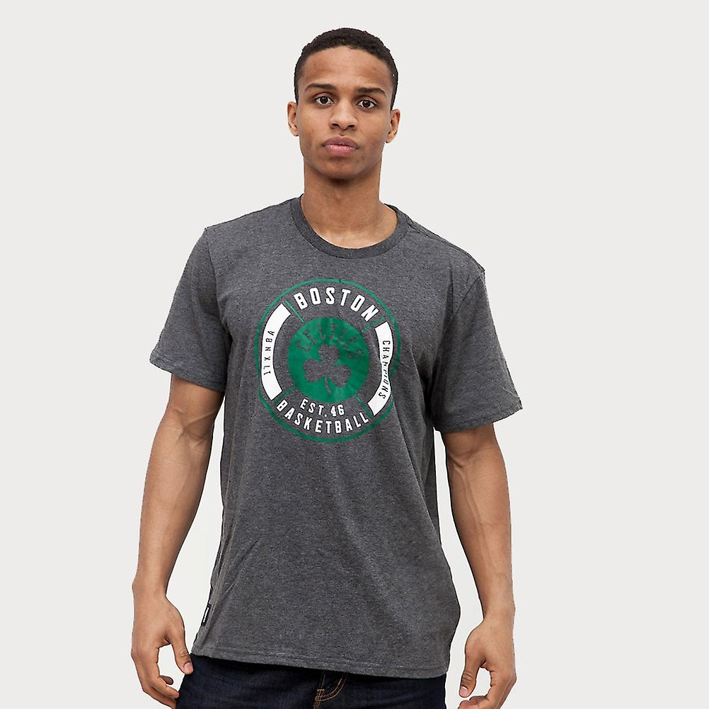 ADIDAS NBA boston celtics washed basketbell t-shirt [grey]