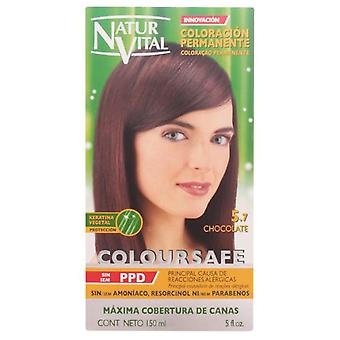 Naturaleza y Vida Permanent Haircolor # 5.7 Coloursafe Chocolate 150 ml