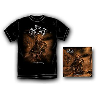 Manegarm - Havets Vargar (T-Shirt L) [CD] USA import