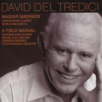 David Krakauer (clarinette) Orion String - Del Tredici : Magyar Madness [CD] USA import