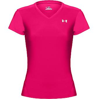 UNDER ARMOUR heatgear short sleeve t-shirt women's [bright pink]