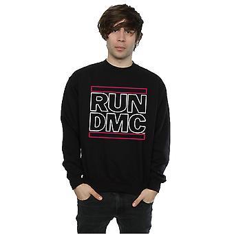 Run DMC Men's Neon Logo Sweatshirt