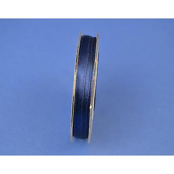 7mm Navy Blue Polyester Satin Craft Ribbon - 10m | Ribbons & Bows for Crafts