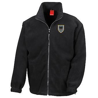 Kommando Heer German Army Command Embroidered Logo - Full Zip Fleece
