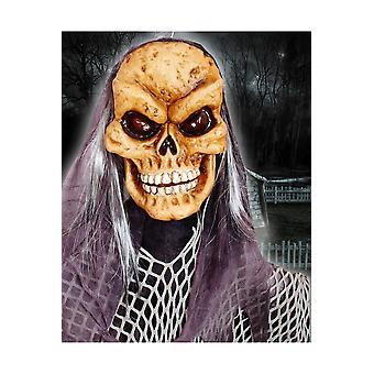 Halloween y terror muñeca de Halloween con luz y sonido