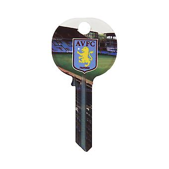 Aston Villa FC Official Football Design Key Blank