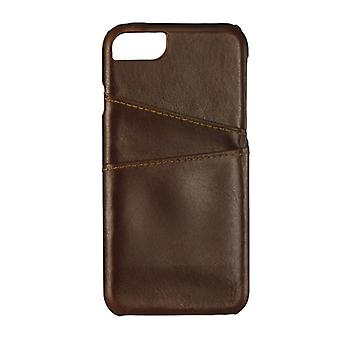 GEAR casing Onsala Leather Brown with Slot iPhone 6/7 4.7