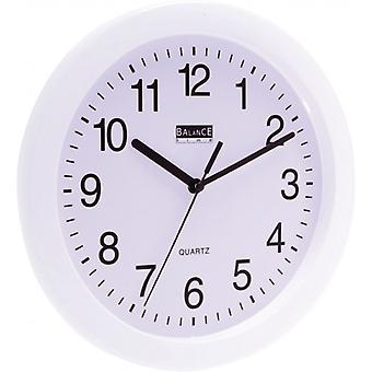 Balance 25 cm Analogue wall clock White