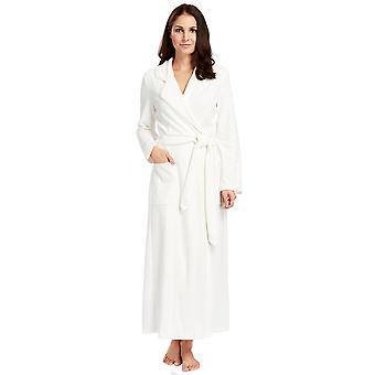 Coton blanc Champagne Robe pyjama bain peignoir Feraud 3883035-10044 féminine