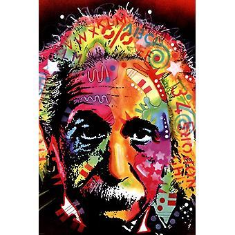 Albert Einstein - Dean Russo Poster Poster Print
