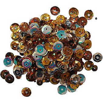 Clear Scraps Sequin Multi Pack 350 To 400 Pieces-Fall CSSQ-FALL