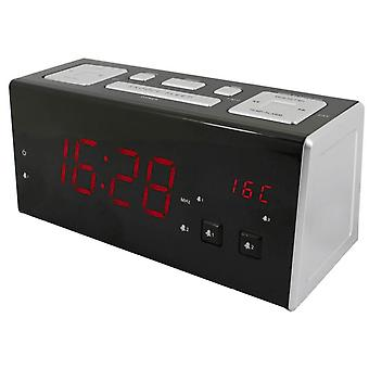 Clockradio med USB-opladning port. UR965