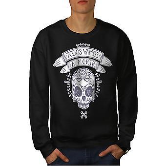 Todos Vamos A Morir Männer BlackSweatshirt | Wellcoda